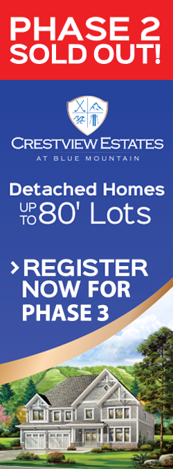 Phase 2 Coming Soon   Crestview Estates   Detached Homes up to 80' Lots   Register Now